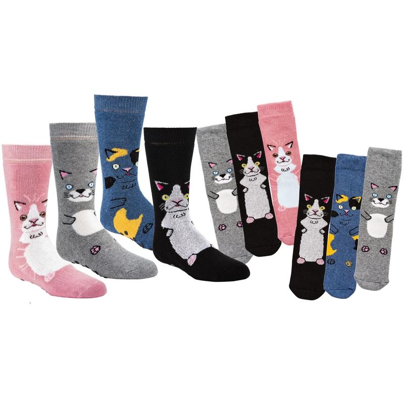 Ponožky ABS Socks 4 fun 3134 kočka-3 páry  a91d558d16