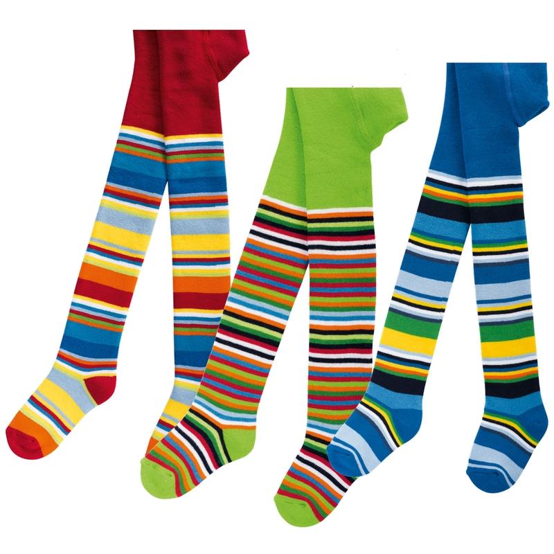 Punčocháče Socks 4 fun 5768 veselé pruhy  ec5ce2dffc